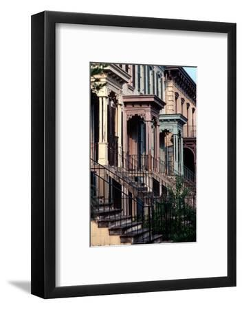 Historic Savannah, Bull Street, Savannah, Georgia, Usa, July 1983-Alain Le Garsmeur-Framed Photographic Print