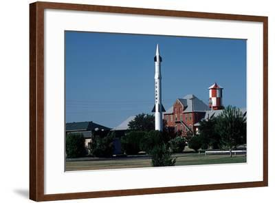 Nike Missile, Fort Bliss, United States Army, Texas, Usa, 1983-Alain Le Garsmeur-Framed Photographic Print