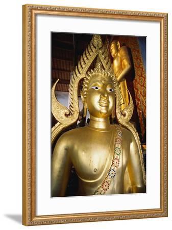 Bronze Buddha Statue-Macduff Everton-Framed Photographic Print