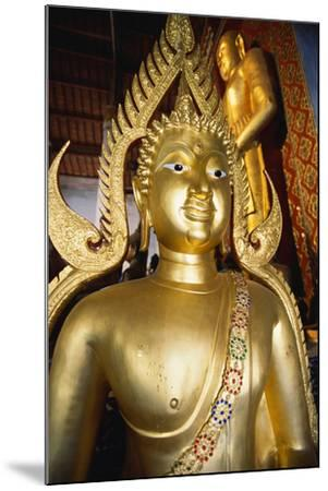 Bronze Buddha Statue-Macduff Everton-Mounted Photographic Print