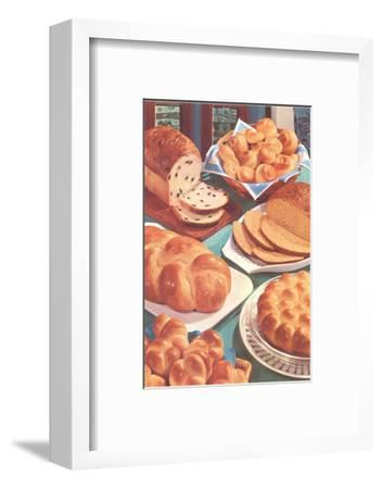 Rolls and Breads-Found Image Press-Framed Photographic Print