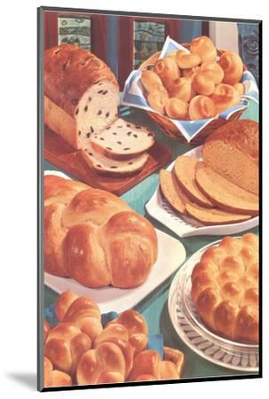 Rolls and Breads-Found Image Press-Mounted Photographic Print