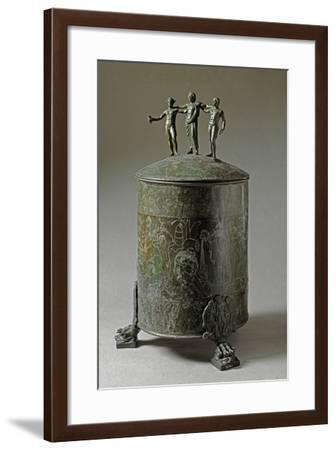 The Ficoroni Cista, with Scenes of the Argonauts Myth--Framed Photographic Print