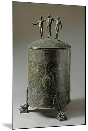 The Ficoroni Cista, with Scenes of the Argonauts Myth--Mounted Photographic Print