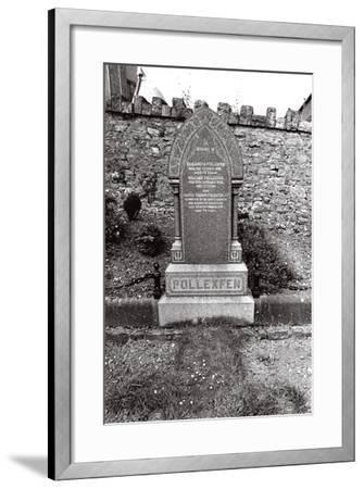 W.B. Yeats, Ireland-Alain Le Garsmeur-Framed Photographic Print