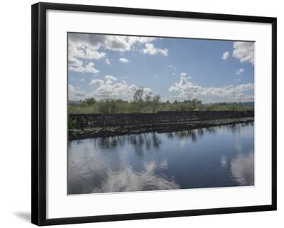 Industrial Canal-Robert Brook-Framed Photographic Print