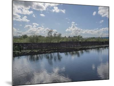 Industrial Canal-Robert Brook-Mounted Photographic Print