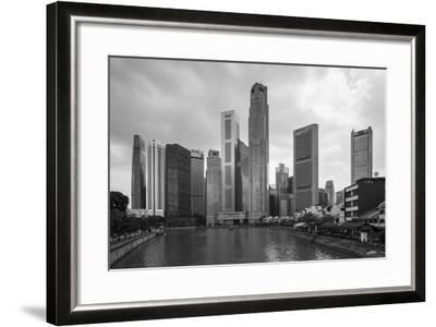 Singapore Skyline-Paul Souders-Framed Photographic Print