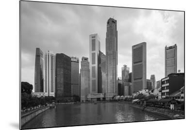 Singapore Skyline-Paul Souders-Mounted Photographic Print