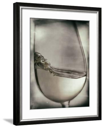 Swirling White Wine-Steve Lupton-Framed Photographic Print