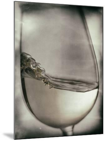 Swirling White Wine-Steve Lupton-Mounted Photographic Print