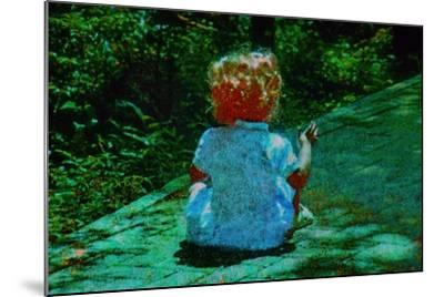 Child--Mounted Photographic Print
