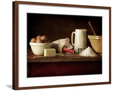 Ingredients and Utensils for Baking-Steve Lupton-Framed Photographic Print
