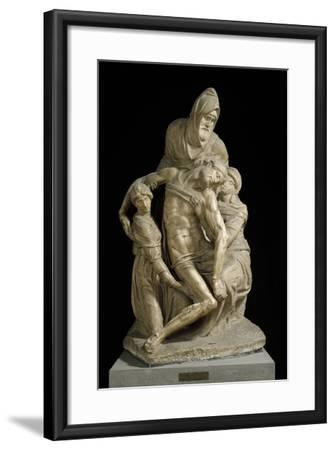The Pieta Bandini, by Michelangelo--Framed Photographic Print