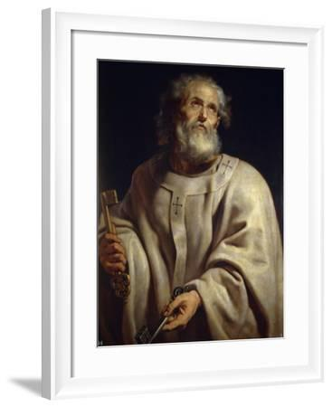 Saint Peter by Peter Paul Rubens--Framed Photographic Print