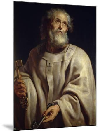Saint Peter by Peter Paul Rubens--Mounted Photographic Print