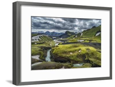 The Emstrua River, Thorsmork, Iceland-Arctic-Images-Framed Photographic Print