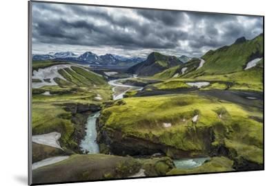 The Emstrua River, Thorsmork, Iceland-Arctic-Images-Mounted Photographic Print