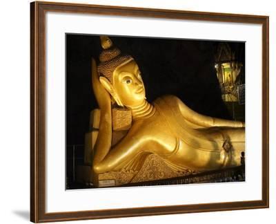 Wat Tham Suwan Khuha in the Buddha Cave in Phang Nga-Terry Eggers-Framed Photographic Print