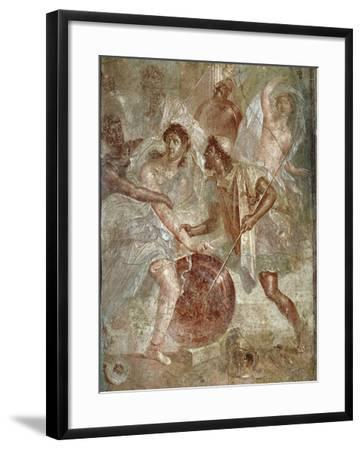 Ulysses and Diomedes Recognizing Achilles--Framed Photographic Print