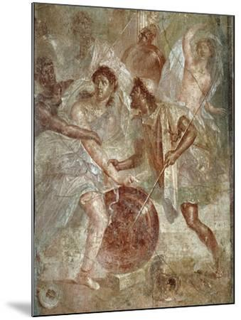 Ulysses and Diomedes Recognizing Achilles--Mounted Photographic Print