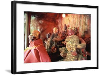Temple Figurines-Macduff Everton-Framed Photographic Print
