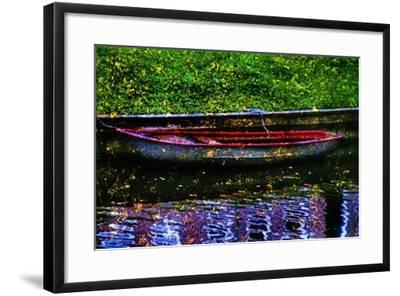 Boat-Andr? Burian-Framed Photographic Print