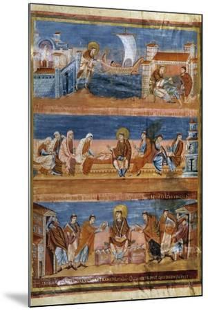 St Jerome Leaving Rome for Jerusalem - 9Th Cent. Illumination--Mounted Photographic Print
