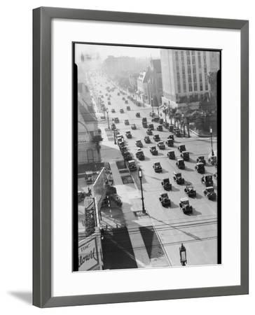 Los Angeles Street Scene-Dick Whittington Studio-Framed Photographic Print