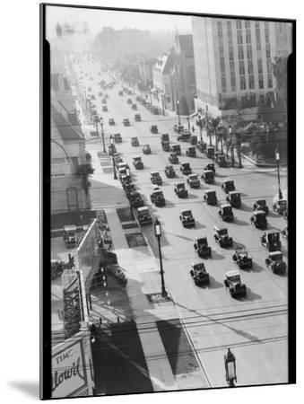 Los Angeles Street Scene-Dick Whittington Studio-Mounted Photographic Print