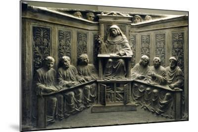 Teaching at the University, from the Tomb of P.Canonici--Mounted Photographic Print