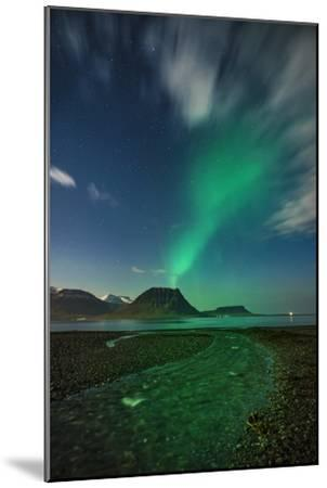 Aurora Borealis or Northern Lights, Iceland-Arctic-Images-Mounted Photographic Print
