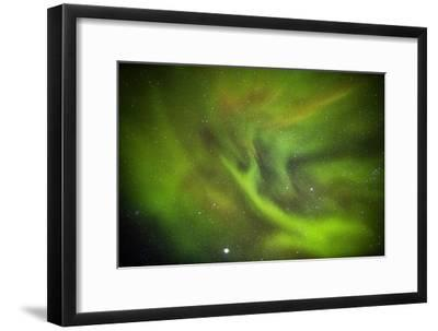 Aurora Borealis or Northern Lights, Lapland, Sweden-Arctic-Images-Framed Photographic Print