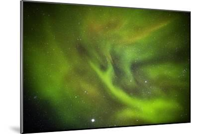 Aurora Borealis or Northern Lights, Lapland, Sweden-Arctic-Images-Mounted Photographic Print