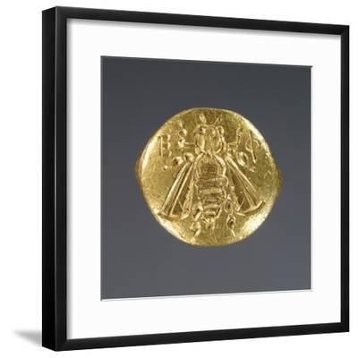 Greek Bee Ring--Framed Photographic Print