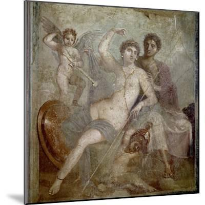 Roman Art : Ares, Aphrodite and Eros--Mounted Photographic Print