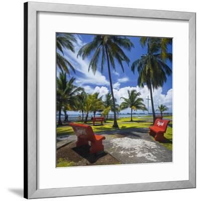 Parque De La Juventud on the Waterfront in Colon.-Jon Hicks-Framed Photographic Print