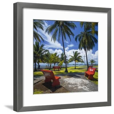 Parque De La Juventud on the Waterfront in Colon.-Jon Hicks-Framed Photographic Print