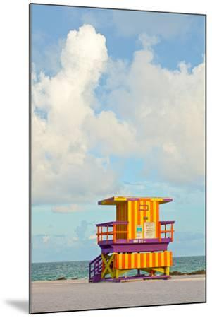 Miami Beach Florida Lifeguard House-Fotomak-Mounted Photographic Print