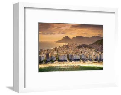 Copacabana Beach-CelsoDiniz-Framed Photographic Print