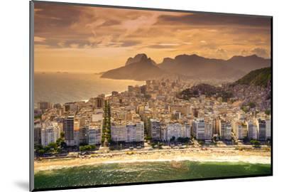 Copacabana Beach-CelsoDiniz-Mounted Photographic Print