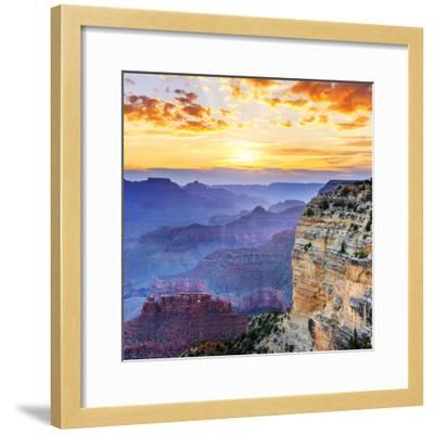 Grand Canyon-vent du sud-Framed Photographic Print