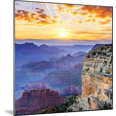 Grand Canyon-vent du sud-Mounted Photographic Print