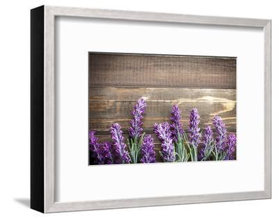 Lavender-Sea Wave-Framed Photographic Print