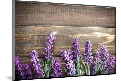 Lavender-Sea Wave-Mounted Photographic Print