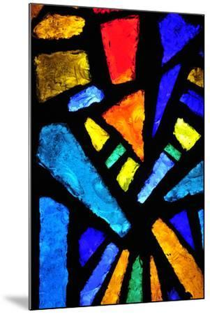 Stained Glass at the Church of the Annunciation- taln-Mounted Photographic Print