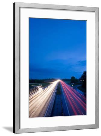 Autobahn-bernjuer-Framed Photographic Print