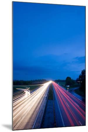 Autobahn-bernjuer-Mounted Photographic Print