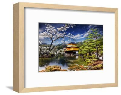 Gold Temple Japan-NicholasHan-Framed Photographic Print