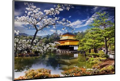 Gold Temple Japan-NicholasHan-Mounted Photographic Print